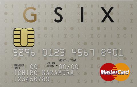 GINZA SIX カード ゴールド