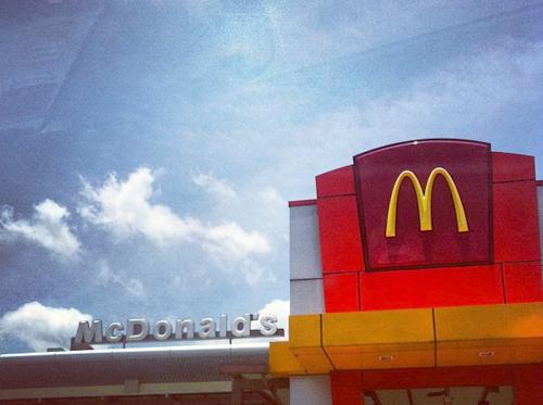 マクドナルドでdポイント