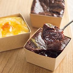<杜の館>窯蒸しチーズケーキ&amp;窯蒸しフォンダンショコラ